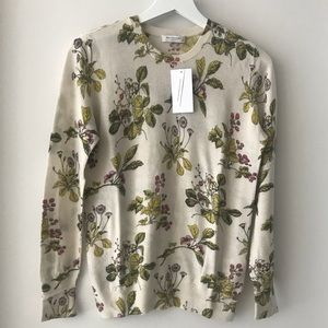 NWT Equipment Cashmere Sloane Floral Sweater S